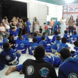 Centro de Treinamento de Artes Marciais de Gandu promove palestra educativa