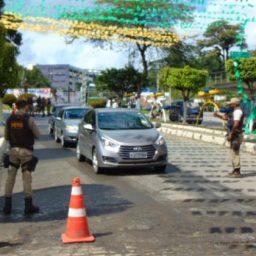 Gandu: Detran e PM realizam operação 'Paz no Trânsito'