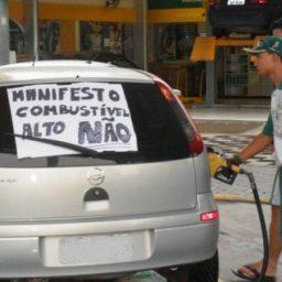 Imposto sobre a gasolina dobrou e custará R$ 0,89 por litro
