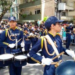 Fanfarras escolares da rede estadual abrilhantam o desfile do 7 de Setembro