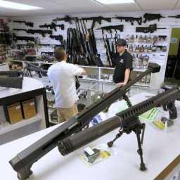 Comprar fuzil em Las Vegas é mais barato do que celular