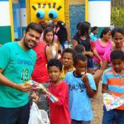 Dia das Crianças em Água Preta teve diversão, distribuição de brinquedos e ações de cidadania