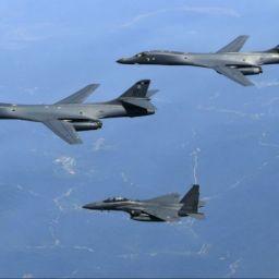 EUA voltam a enviar bombardeiros a exercícios perto da Coreia do Norte