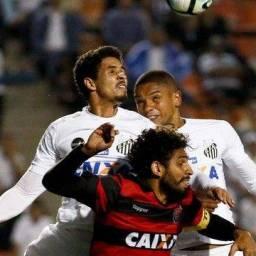 Vitória empata com o Santos no Pacaembu