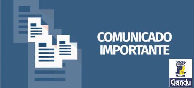 Resultado de imagem para Comunicado da Secretaria de Saúde de Gandu