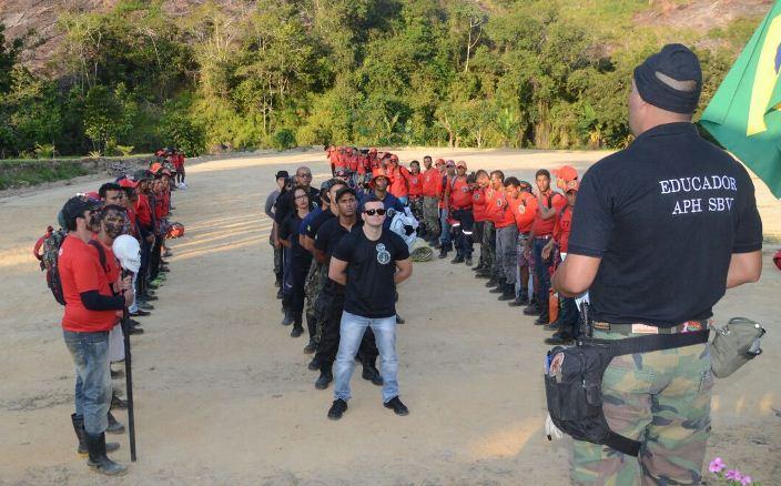 GANDU: Curso de Bombeiros (Resgate Selva) é destaque na região pela segunda vez