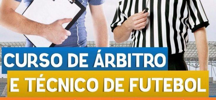 Resultado de imagem para Três municípios do interior recebem cursos de técnico e árbitro em maio