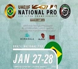 Brazil National Pro Jiu Jitsu Championship – GI. Dia 27/01 em Guarapari – ES