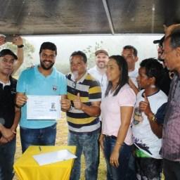 Gandu: Prefeitura anuncia construção de quadra poliesportiva para o povoado de Água Preta.