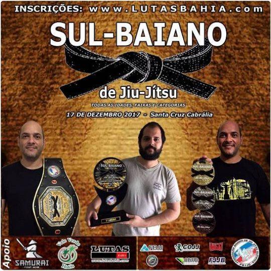 Campeonato Sul-baiano de Jiu Jitsu. 17 de dezembro em Santa Cruz Cabrália