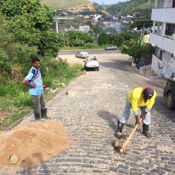 No primeiro dia útil de 2018, Seinfra de Gandu realiza serviços de recuperação em alguns pontos da cidade.
