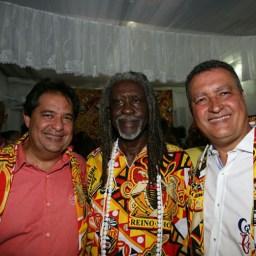 Governador Rui Costa participa da saída do Ilê: 'expressão do povo negro'