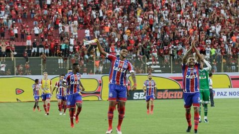 Regulamento determina triunfo do Bahia por 3×0