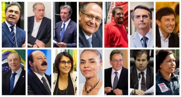 Eleição presidencial já tem 16 pré-candidatos oficializados