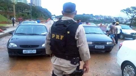PRF não aplicou nenhuma multa autorizada pelo STF a grevistas