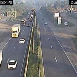 Volta para casa: Após São João, tráfego na BR-324 é intenso, mas sem congestionamento