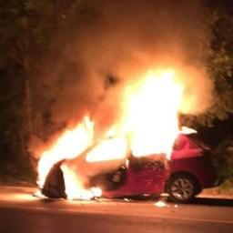 Após desviar de ciclista na BR-367, empresário bate carro em caminhão e tem corpo carbonizado no sul da Bahia