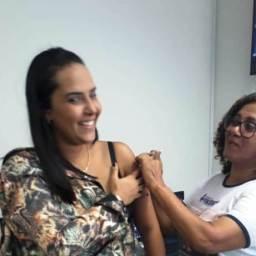CAAB realiza campanha de vacinação contra a gripe em Gandu