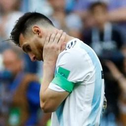 Torcedores argentinos lamentam derrota, mas elogiam seleção e Messi