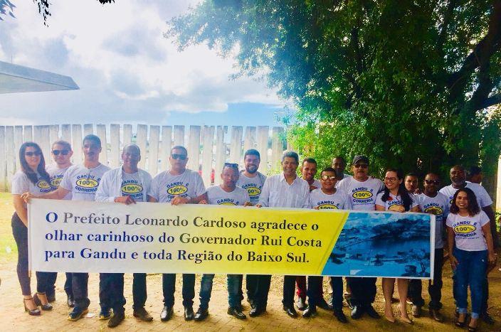 Resultado de imagem para COMITIVA DE GANDU PARTICIPA DA CONVENÇÃO DE RUI À REELEIÇÃO AO GOVERNO DA BAHIA