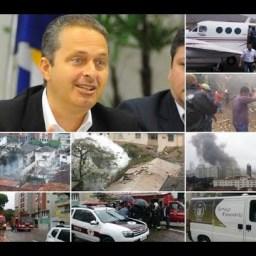PF conclui inquérito sobre queda de avião de Eduardo Campos
