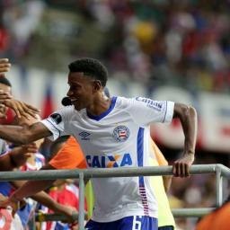 Ramires descreve emoção de marcar o primeiro gol pelo Bahia