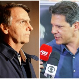 Ibope 2º turno: Bolsonaro dispara com 59% e Haddad 41%