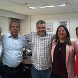 Secretário da Educação de Gandu se reúne com diretores da UNEB em busca de parceria.