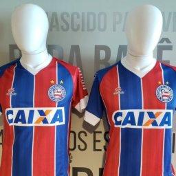 Com 'merchan' de Gilberto, Bahia anuncia venda de camisas a preço popular