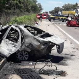 Sete pessoas da mesma família morrem em acidente trágico em viagem de Natal