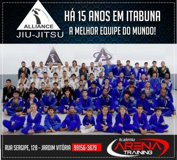 Alliance_Itabuna Manual do Faixa Marron | Jiu-Jitsu