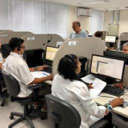 Central de Regulação atendeu mais de 1,9 mil pacientes no Ano Novo