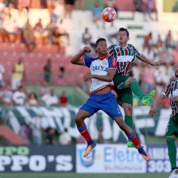 Em partida sem gols, Bahia empata com Fluminense de Feira