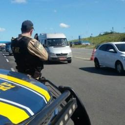 PRF registra 41 acidentes com 8 mortes em rodovias federais no feriado