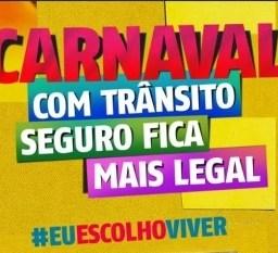 Detran oferece comodidade em serviços e promove campanha no Carnaval