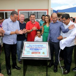 Estádio é entregue com novo gramado no município de Serrolândia