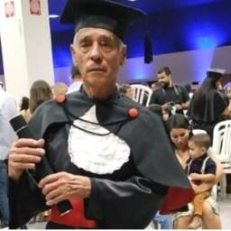Inspirado nos netos, idoso se forma em direito aos 78 anos, em Goiânia: 'Sonho realizado'
