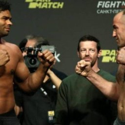 'Duelo de gigantes' é atração em card do UFC na Rússia; dois brasileiros entram em ação