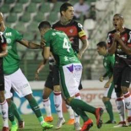 De virada, Vitória perde para o Guarani por 3 a 2
