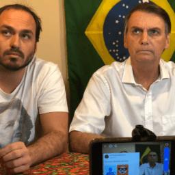 Filho de Bolsonaro diz que 'o que está por vir pode derrubar o capitão eleito'
