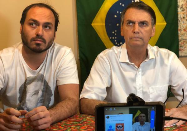 carlos-bolsonaro-arquivo-pessoal-instagram Filho de Bolsonaro diz que 'o que está por vir pode derrubar o capitão eleito'