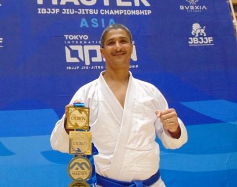 Atleta baiano vence campeonato de Jiu Jitsu no Japão