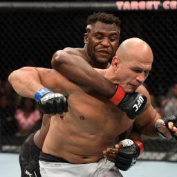 Ngannou derruba Cigano em 71 segundos e avança em luta por cinturão