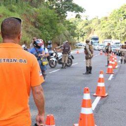 Fiscalização do Detran e Polícia Militar garante segurança nas estradas