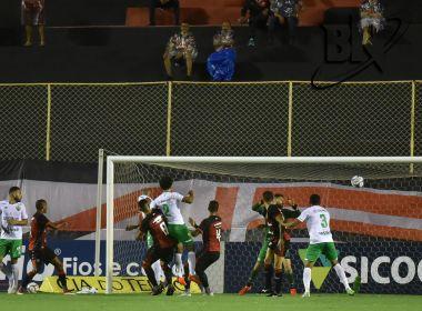 Vitória perde para o Cuiabá no Barradão e segue na lanterna da Série B