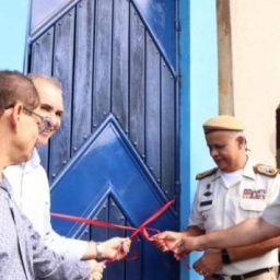 Comandante geral da PMBA inaugura posto policial militar, em distrito de Nilo Peçanha