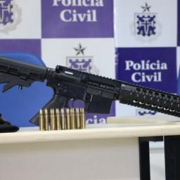 Mais de 2,2 mil armas são retiradas das ruas na Bahia