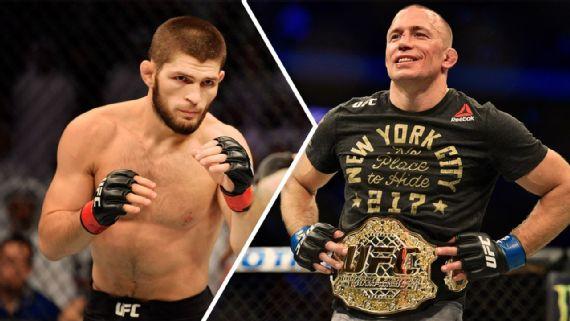 Dana-White-muda-discurso-e-cogita-superluta-entre-Khabib-e-St-Pierre UFC: Dana White muda discurso e cogita superluta entre Khabib e St-Pierre