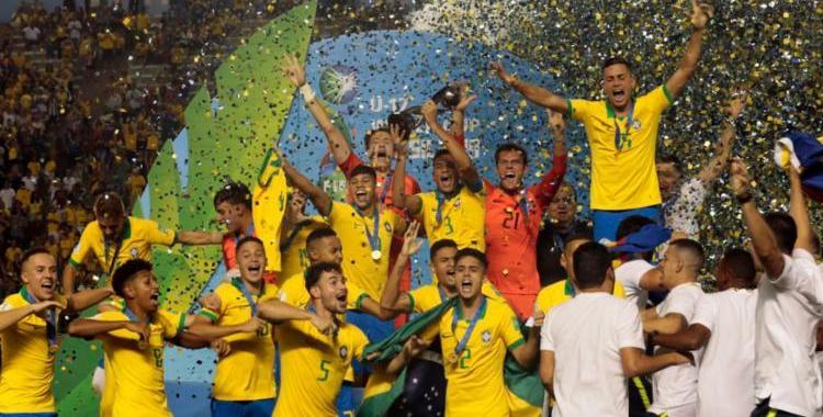 Brasil bate o México e conquista Mundial Sub-17 pela quarta vez