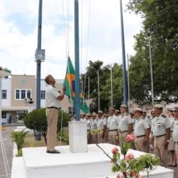 Dia da Bandeira na PM é celebrado com evento
